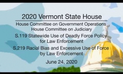 Vermont State House - S.119, S.219 6/24/2020