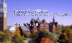 Osher Lifelong Learning Institute: Plan V: The Case for a 2nd VT Republic with Robert C. Williams