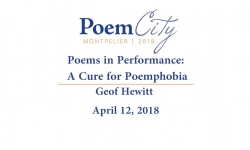 Poem City - Poems in Performance: A Cure for Poemphobia
