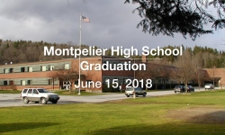 Montpelier High School Graduation - June 15, 2018