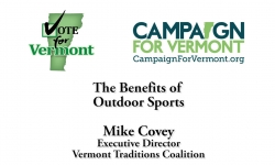 Vote for Vermont: Benefits of Outdoor Sports, Mike Covey 2 of 2
