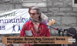 Montpelier Brown Bag Series 2017 - Pitz Quattrone and the Freelancers