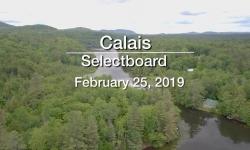 Calais Selectboard - February 25, 2019