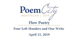 Poem City - Flow Poetry: Four Left-Handers and One Write