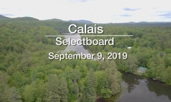 Calais Selectboard - September 9, 2019