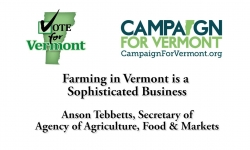 Vote for Vermont: Farming in VT is a Sophisticated Business