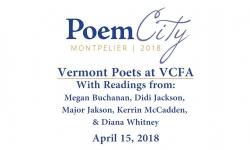 Poem City - Vermont Poets at VCFA