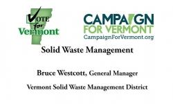 Vote for Vermont: Solid Waste Management