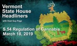 Guy Page State House Headliners - S.54 Regulation of  Cannabis