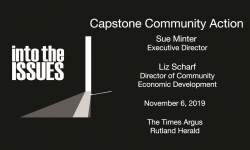 Into The Issues: Capstone Community Action