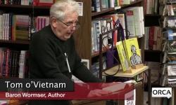 Bear Pond Books Events - Tom o'Vietnam, Baron Wormser - January 30, 2018