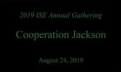 ISE 2019 Gathering - Cooperation Jackson