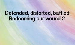 Your Spark of Humanity - Defended, distorted, baffled: Redeeming our wound 2