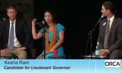 Democratic Candidates for Governor and Lieutenant Governor - Debate