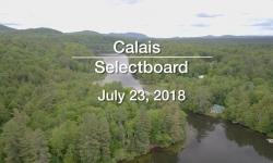 Calais Selectboard - July 23, 2018