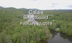 Calais Selectboard - February 11, 2019