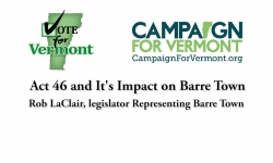Act 46 & Impact on Small Schools - Barre Town