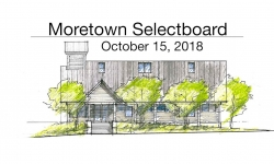 Moretown Select Board - October 15, 2018