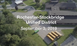 Rochester-Stockbridge Unified District - September 3, 2019