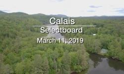 Calais Selectboard - March 11, 2019