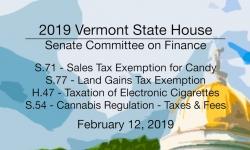 Vermont State House - S.71, S.77, H.47, S.54 2/12/19