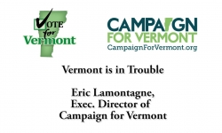 Vote for Vermont: Vermont is in Trouble