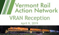 Vermont Rail Action Network - VRAN Reception 4/9/19