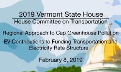 Vermont State House - Regional Approach to Cap Greenhouse Pollution 2/8/19