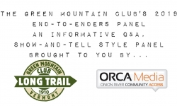 Green Mountain Club End to Enders Panel - May 10, 2019