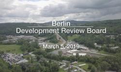 Berlin Development Review Board - March 5, 2019
