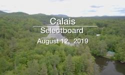 Calais Selectboard - August 12, 2019