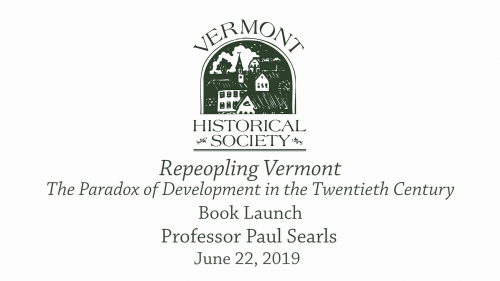 Repeopling Vermont: The Paradox of Development in the