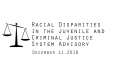 Racial Disparities Advisory Panel - 12/11/2018