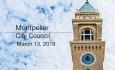 Montpelier City Council - March 13, 2019