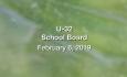 U-32 School Board - February 6, 2019