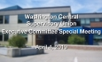 Washington Central Supervisory Union - Executive Committee Special Meeting 4/4/19
