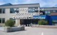Washington Central Supervisory Union - Executive Committee Meeting 6/11/19