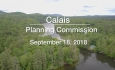 Calais Planning Commission - September 18, 2018