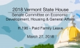 Vermont State House: H.196 - Paid Family Leave 3/27/18