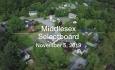 Middlesex Selectboard - November 5, 2019