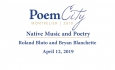 Poem City - Native Music and Poetry