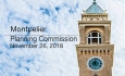 Montpelier Planning Commission - November 26, 2018