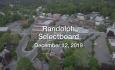 Randolph Selectboard - December 12, 2019