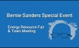Bernie Sanders Special Event - Energy Resource Fair & Town Meeting