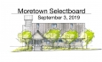 Moretown Selectboard - September 3, 2019