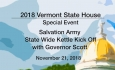 Vermont State House Special Event - Salvation Army State Wide Kettle Kick Off