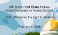 Vermont State House Special Event - Public Hearing on H.57 2/6/19