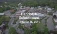 Randolph Selectboard - October 15, 2018