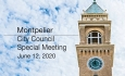 Montpelier City Council - Special Meeting June 12, 2020