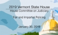 Vermont State House - Fair and Impartial Policing 1/30/19